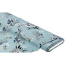 Crêpe 'Blumenstrauss', mint-color