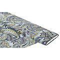"""Tissu pour blouses """"paisley"""", bleu clair/multicolore"""