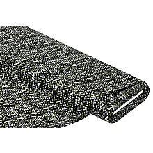 Baumwoll-Stretch 'Zacken', schwarz/grün