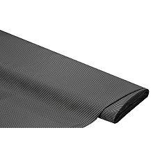 Tissu taffetas 'rayures', noir/blanc