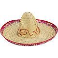 Sombrero, 48 cm Ø, farblich sortiert