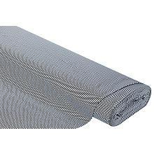 Baumwoll-Jersey 'Streifen' mit Elasthan, marine/weiss