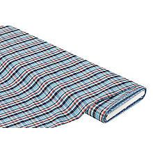 Baumwoll-Webkaro für Hemden & Blusen, türkis-color