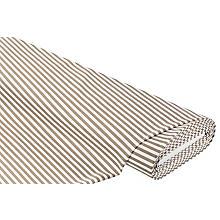 Elastik-Jersey 'Streifen', offwhite/taupe
