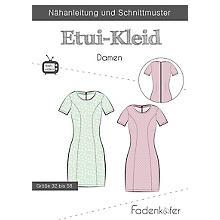 Fadenkäfer Schnitt 'Etui-Kleid' für Damen