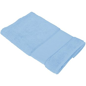 buttinette Serviette de toilette, bleu