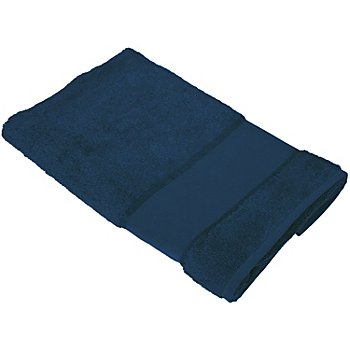 buttinette Serviette de toilette, bleu marine