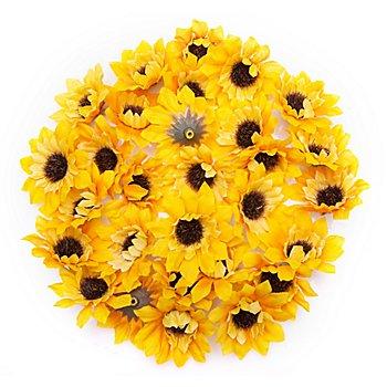 Streu-Sonnenblumen, 4,5 cm Ø, 24 Stück