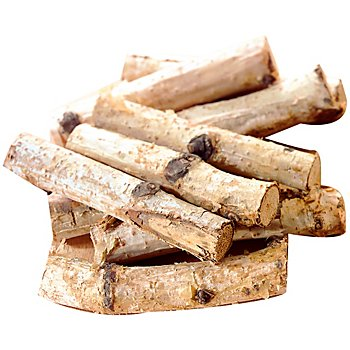 Birkenstöckchen, 6 - 9 cm, 16 Stück