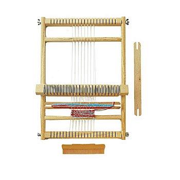 Set métier à tisser scolaire, largeur du tissage : 23 cm