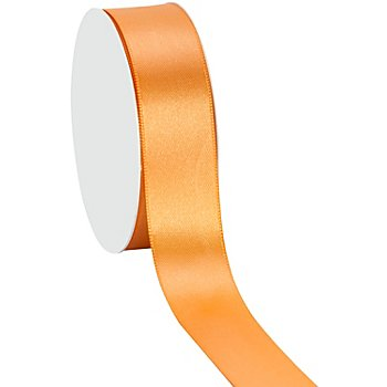 Satinband, apricot, 25 mm, 10 m