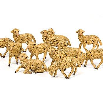 Moutons, marron, 4 - 5,5 cm