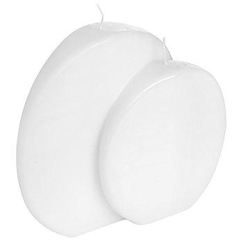 Bougie boule, blanc