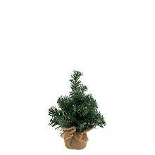 Petit sapin de Noël artificiel, 25 cm