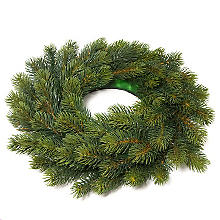 Couronne de sapin artificiel, Ø 38 cm