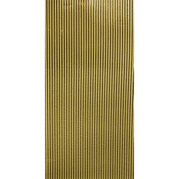 Verzierwachsstreifen 'halbrund, gold', 20 cm, 39 Stück
