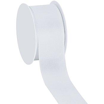 Stoffband, weiss, 40 mm, 10 m