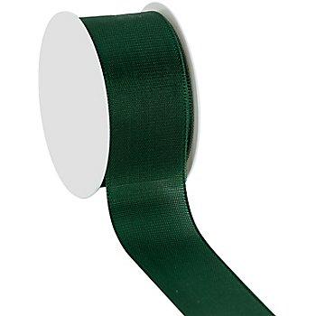 Stoffband, dunkelgrün, 40 mm, 10 m
