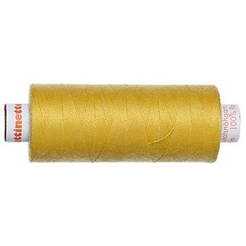 buttinette Universal-Nähgarn, Stärke: 100, 500m-Spule, zitrone