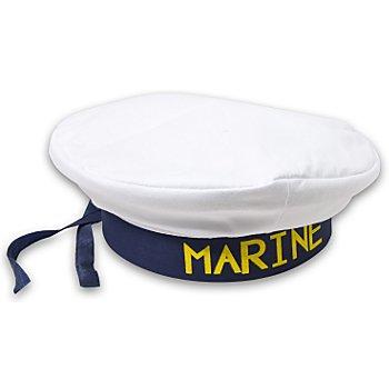 Béret de marin, bleu/blanc
