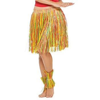 Jupe 'Hawaii', multicolore