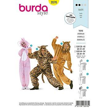 burda Schnitt 3576 'Tier-Overall'