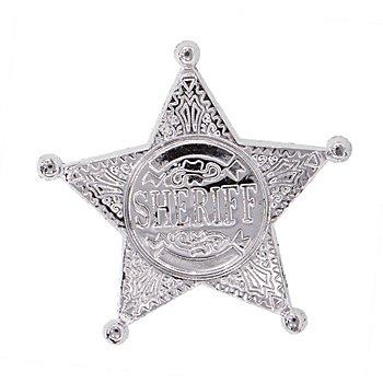 Sheriffstern, silber