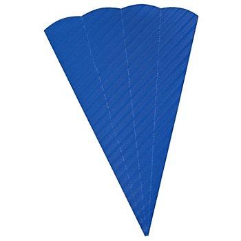 Pochette surprise en carton ondulé, 68 cm, bleu
