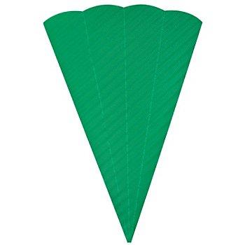 Pochette surprise en carton ondulé, 68 cm, vert