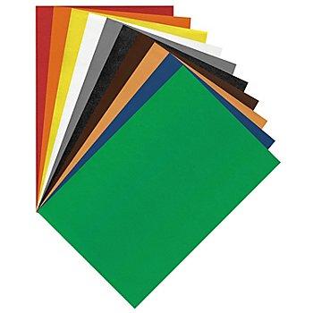 Moosgummi, bunt, 29 x 40 cm, 10 Bogen