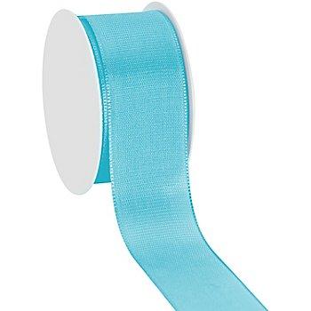 Stoffband, hellblau, 40 mm, 10 m
