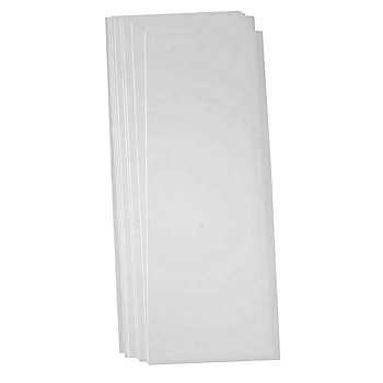 Laternen-Zuschnitte 'transparent', 51 x 22 cm, 5 Blatt