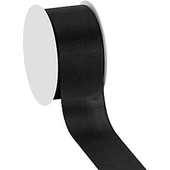 Stoffband, schwarz, 40 mm, 10 m