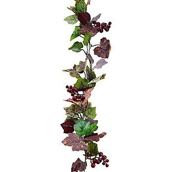 Guirlande de feuilles de vigne, 1,80 m