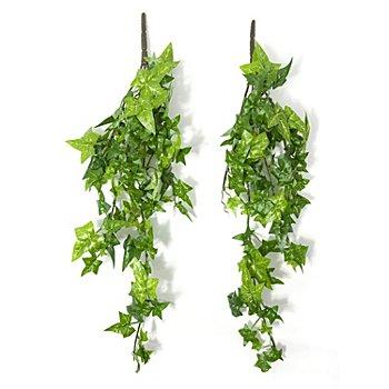 Branches de lierre, vert, 40 cm, 2 pièces