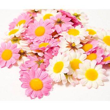 Streublüten, pink-rosa, 4 cm Ø, 40 Stück