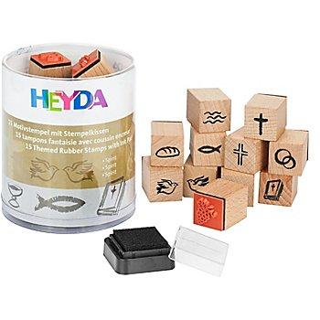 Heyda Stempel-Set 'Kirchliche Anlässe'