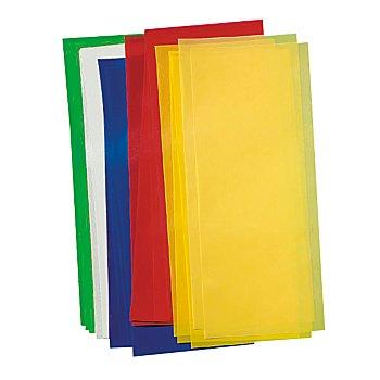 Laternen-Zuschnitte 'bunt', 52 x 20 cm, 25 Stück