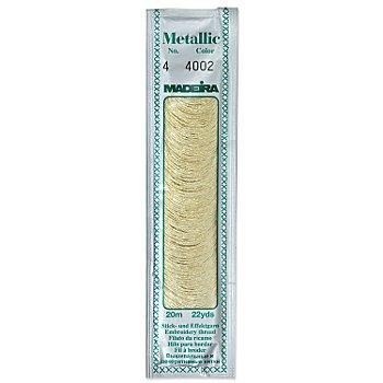 MADEIRA Sticktwist 'Metallic 4', gold, Länge: 20 m