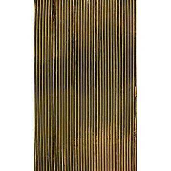 Verzierwachsstreifen 'flach, gold', 20 cm, 39 Stück