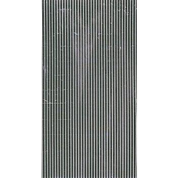 Bandes de cire plates, argenté, 20 cm, 39 pièces