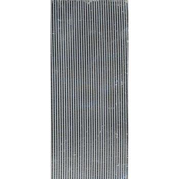 Verzierwachsstreifen 'halbrund, silber', 20 cm, 39 Stück