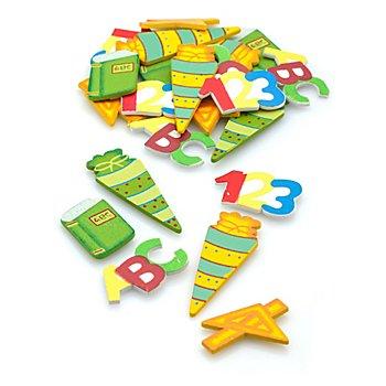 Streuteile 'Schule', 2 - 5 cm, 24 Stück