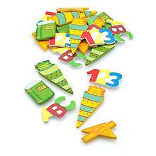 Motifs déco 'école', 2 - 5 cm, 24 pièces