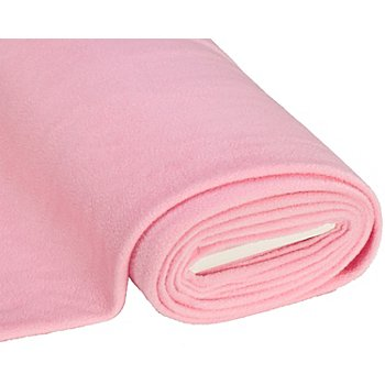 Tissu polaire, rose