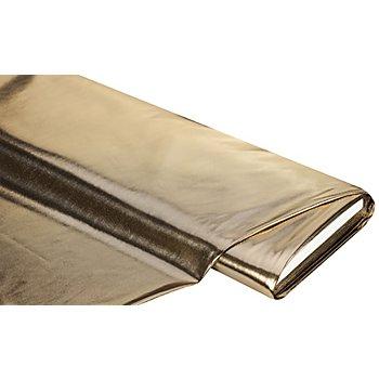 Folienstoff 'Glitter', gold