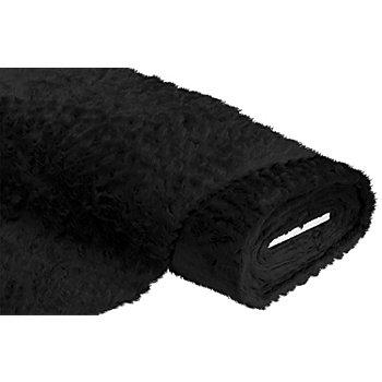 Tissu peluche, noir