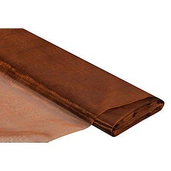 Tissu organza, bronze