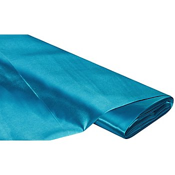 Tissu satin uni 'Gala', turquoise
