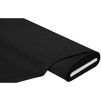 Tissu gabardine en polyester, noir